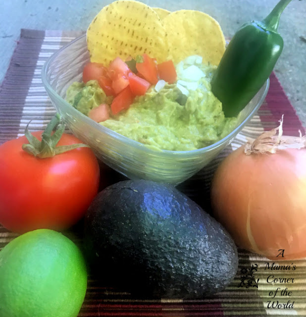 Try this easy fresh homemade guacamole recipe