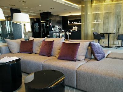 Hilton Tallinn, Exec Lounge seating