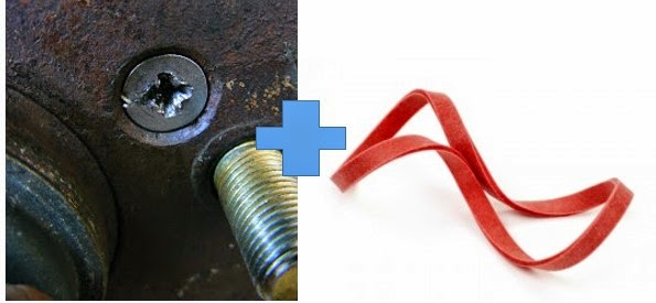 Cara Mudah Membuka Sekrup Plus (+) Yang Dol atau Rusak