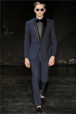 Single breasted jacket - one button - Hardy Amies SS2013