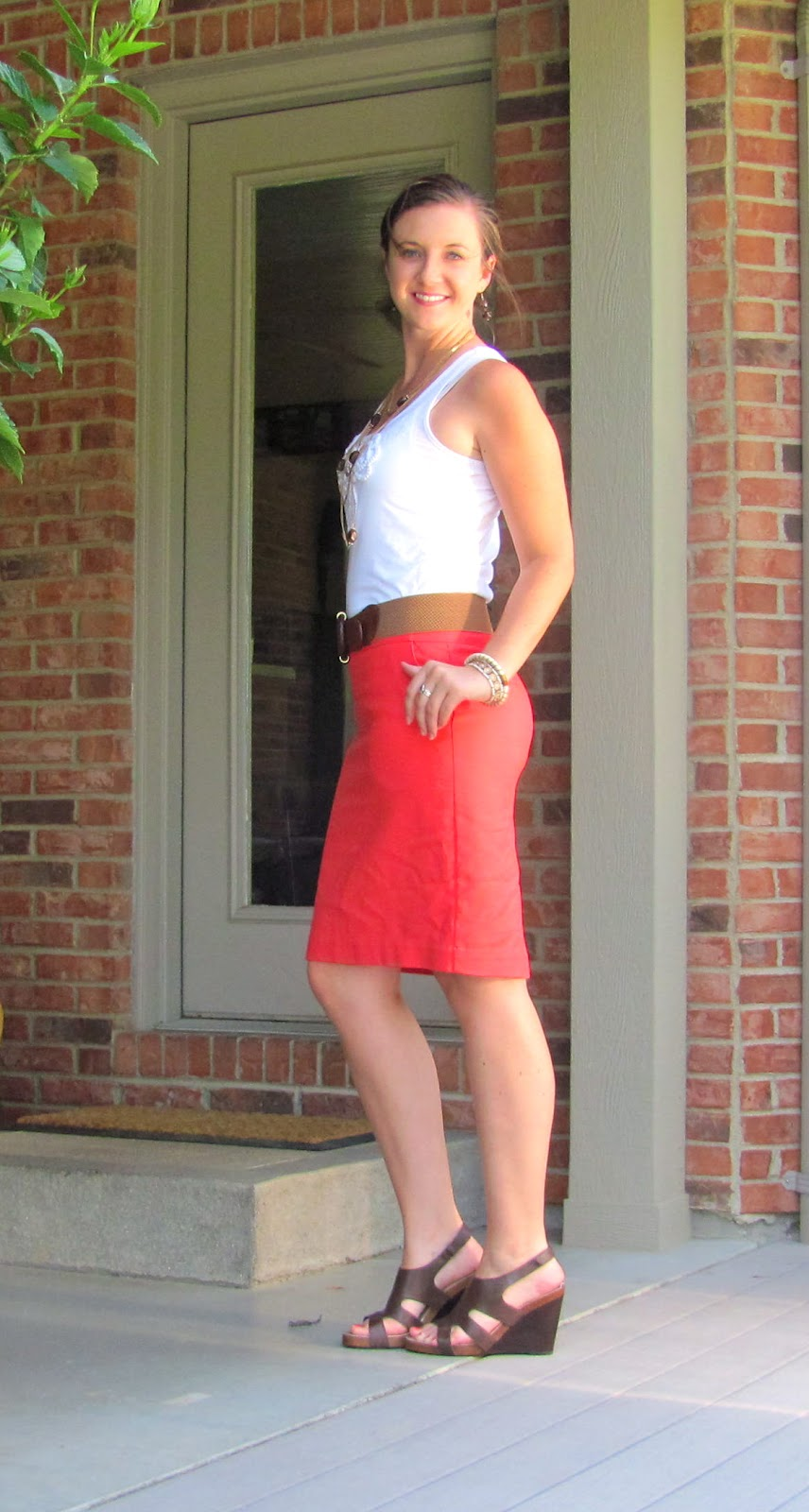 8f4f118998f18 Top  Old Navy    Skirt  Target    Belt  JcPenney    Shoes  DSW    Jewelry  Forever  21
