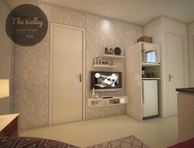 Desain Interior Kamar Tidur Rumah  - The Valley Interior Design