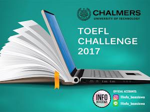 Chalmers TOEFL Challenge 2017.