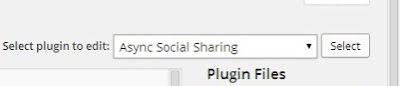 Add 'Via @Twitter Handle' to Async Social Sharing's Tweet Button