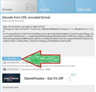 Cara Decode URL