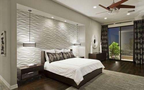 Hãy tạo ra những bức tường ấn tượng cho phòng ngủ