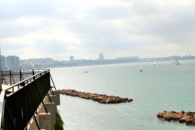 lungomare, Taranto, mare, acqua, barche