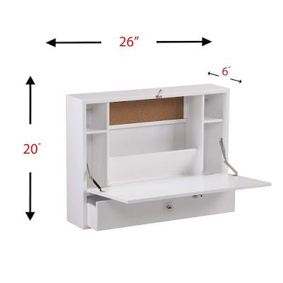 خزانة صغيرة، مكتب قابل للطي، خزانة قابلة للطي