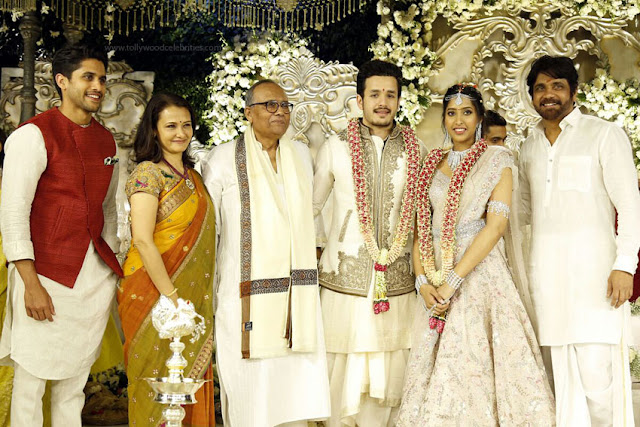 Akhil Akkineni Engagement Photos