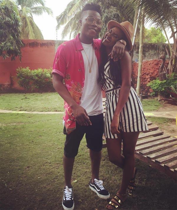 "Reekado Banks shows off girlfriend, calls her ""bae of life"""