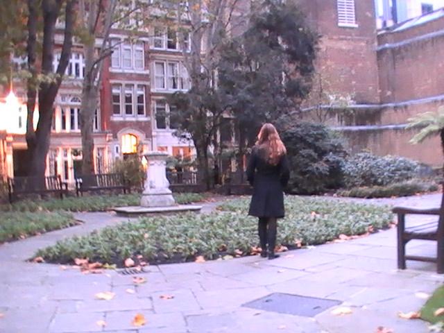Postman Park, que aparece no filme Closer, com Natalie Portman