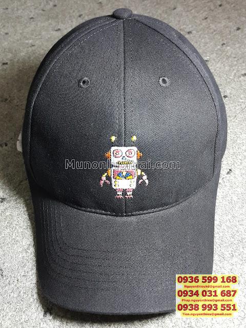 Xưởng làm nón lưỡi trai quà tặng giá rẻ, may nón lưỡi trai in quảng cáo giá rẻ, đặt làm nón snapback