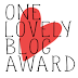 Premio: One Lovely Blog Award