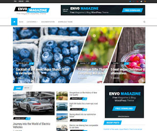 Envo Magazine - Theme Wordpress Responsive Free