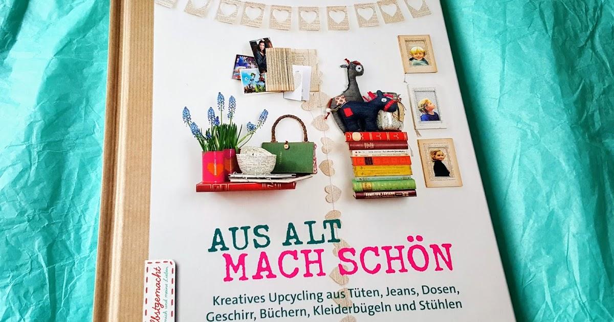 DIYBuchvorstellung Aus alt mach schön  Apfelbäckchen  ~ Bücherregal Alt