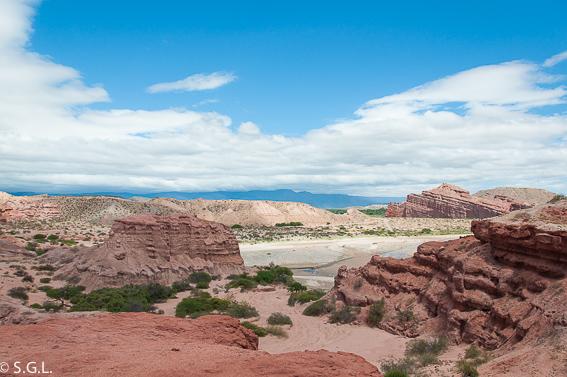 La Quebrada de las conchas. Visitando el norte de Argentina