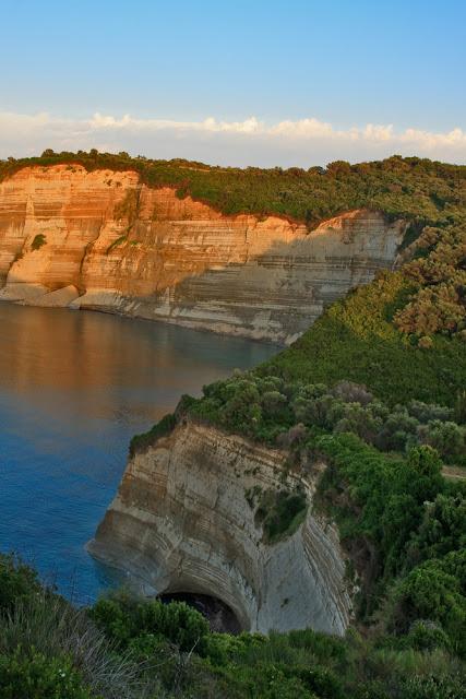 Cape Drastis. Peroulades. Corfu. Greece. Мыс Драстис. Перуладес. Корфу. Греция