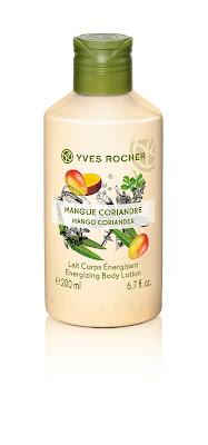 Leche Corporal 200 ml ENERGÍA Mango y Cilandro línea Plaisirs Nature Yves Rocher