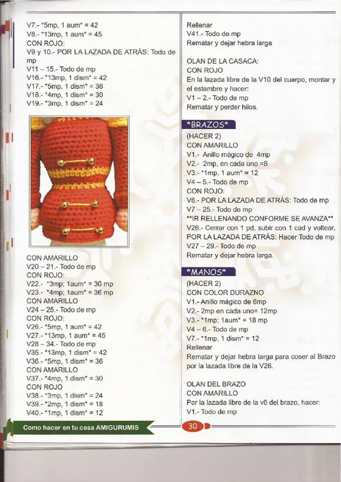 PATRONES GRATIS DE CROCHET: CASCANUECES amigurumi a crochet ...