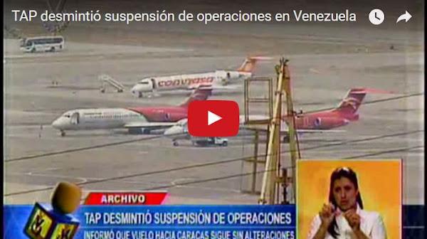 Aerolínea TAP Portugal canceló vuelo hacia Caracas