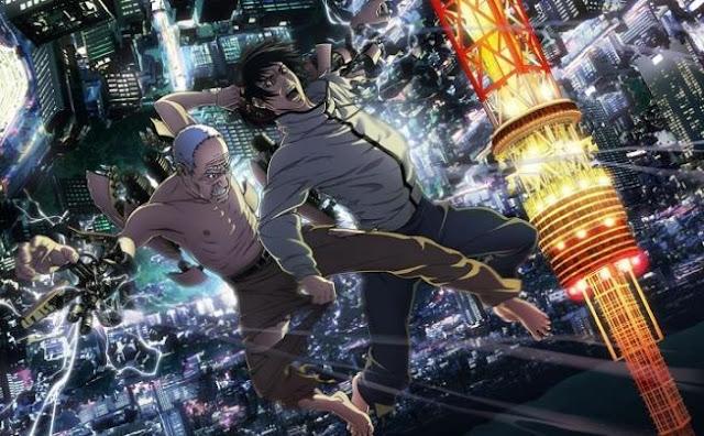 Top Anime Like Tokyo Ghoul - Inuyashiki: Last Hero