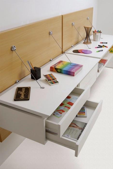 Furniture Rumah Minimalis Modular yang Digantung di ...