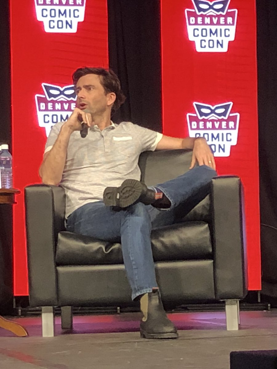 David Tennant's panel at Denver Comic Con on Sunday 17th June 2018. Photo by PCB J.L. Jamieson