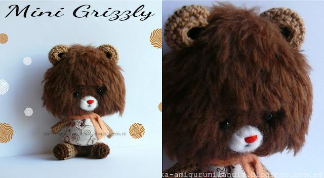 osita de peluche grizzly regalos