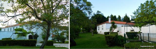 Jardins do Hotel Solar Cerca do Mosteiro Alcobaça, Portugal
