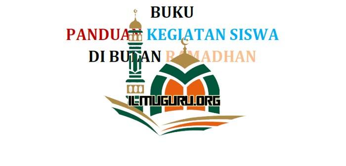Buku Panduan Kegiatan Ramadhan