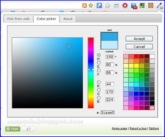 Обойдёмся без Фотошопа!: Определение цвета под курсором на ...