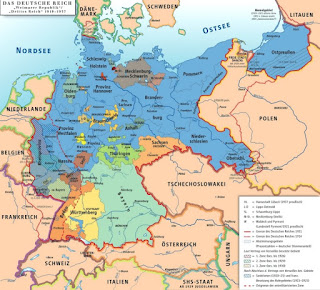 Republique Weimar - Carte