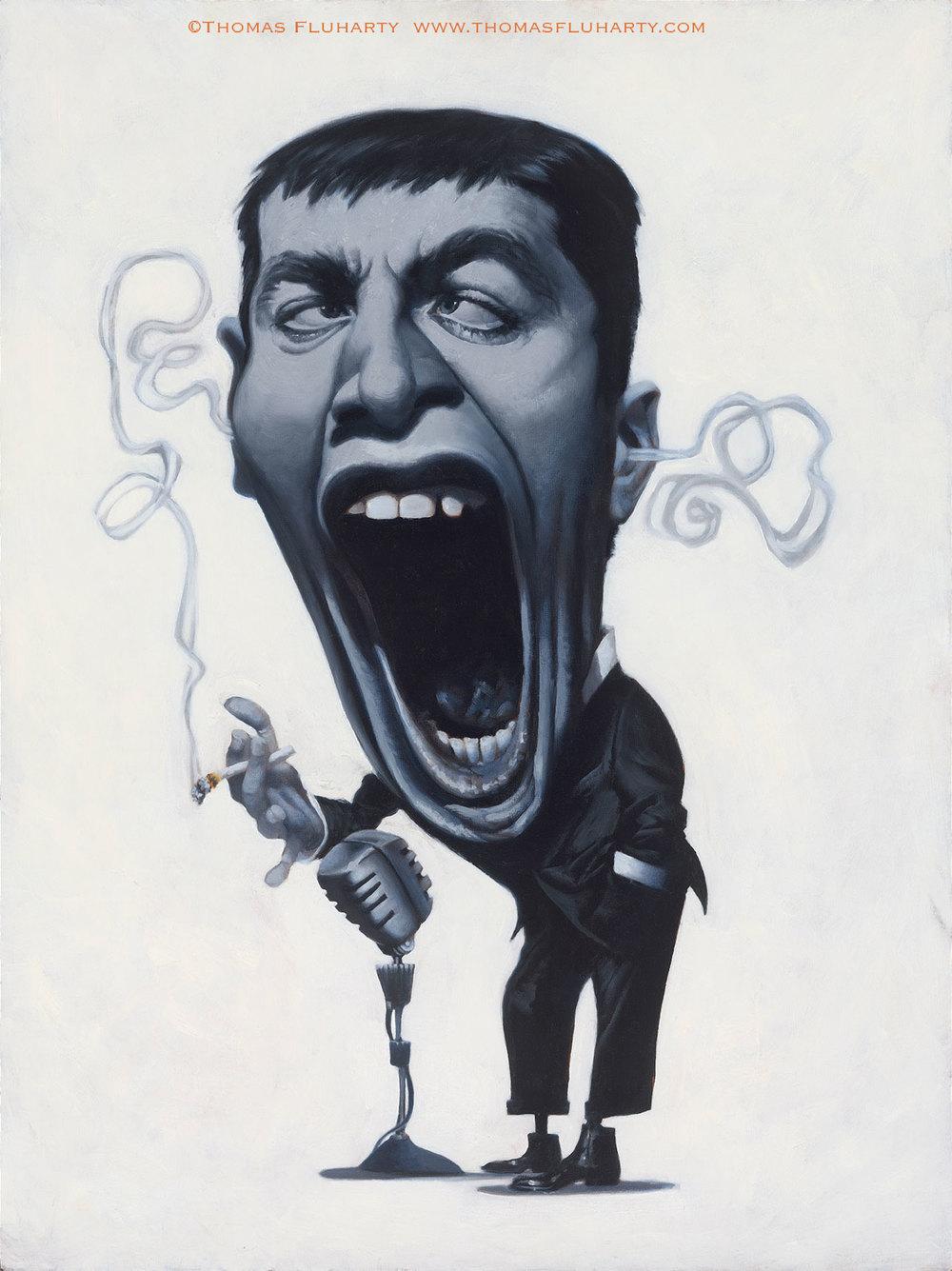 Jerry Lewis por Thomas Fluharty