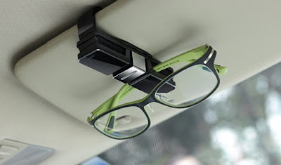 Car Glasses Holder Sunvisor Clip