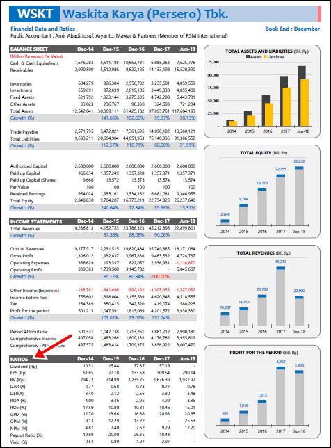 Contoh Laporan Keuangan Serta Analisis Rasio Keuangan Perusahaan Edusaham