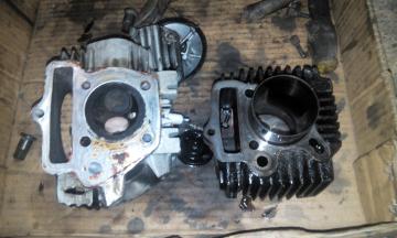 Gambar head blok motor