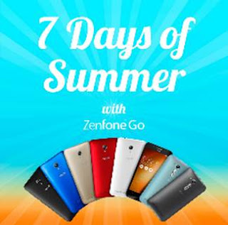 Soak Up in 7 Days of All-Out Summer Excitement with the Best-Value ASUS ZenFone Go Smartphones
