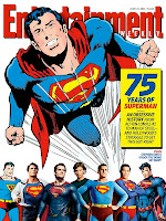 Entertainment Weekly Cover: Superman at 75
