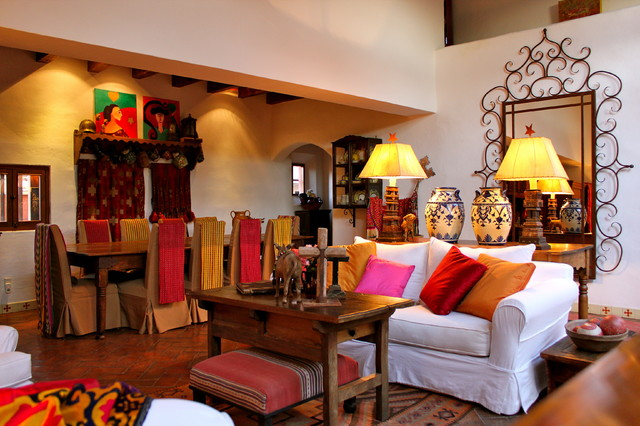 mexican style living room interior designs part 4 tuscan vintage 14468