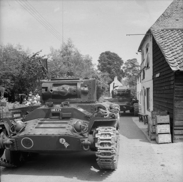 Valentine tanks of 6th Armoured Division, 25 July 1941 worldwartwo.filiminspector.com