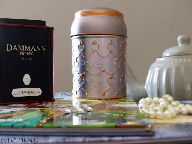 Thé tea time Damman Frères Kusmi Tea Lifestyle Goût Russe Douchka Thé blanc de Noël Christmas
