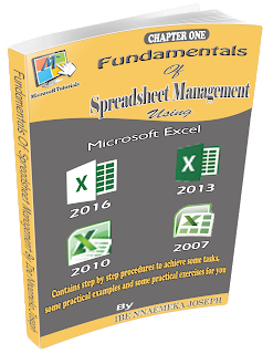 fundamental of spreadsheet management using ms-aexcel