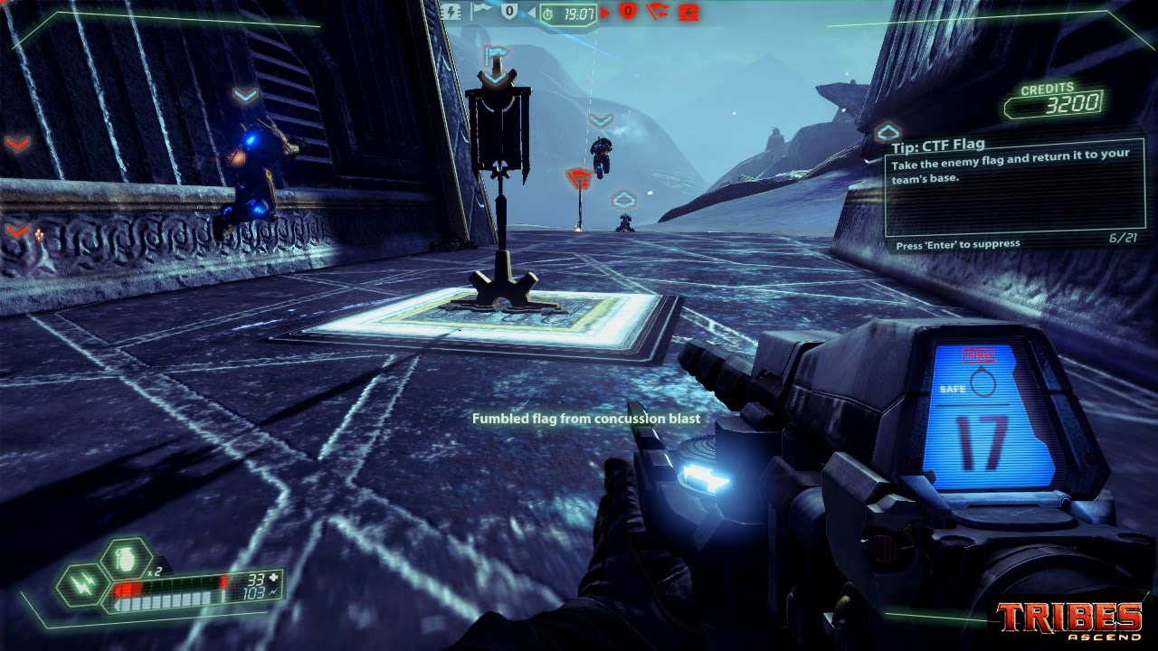 Tribes: Ascend gameplay