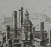 Veduta - Piazza - Carceri - 1750 - Stampa