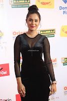Vennela in Transparent Black Skin Tight Backless Stunning Dress at Mirchi Music Awards South 2017 ~  Exclusive Celebrities Galleries 085.JPG