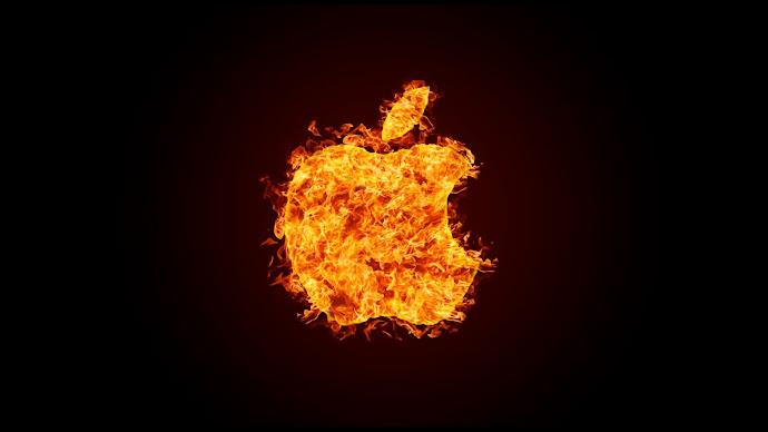 Wallpaper: Apple Fire