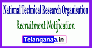 NTRO National Technical Research Organisation Recruitment Notification