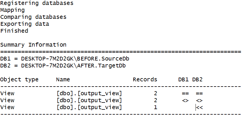 how to show sql records where the case is different