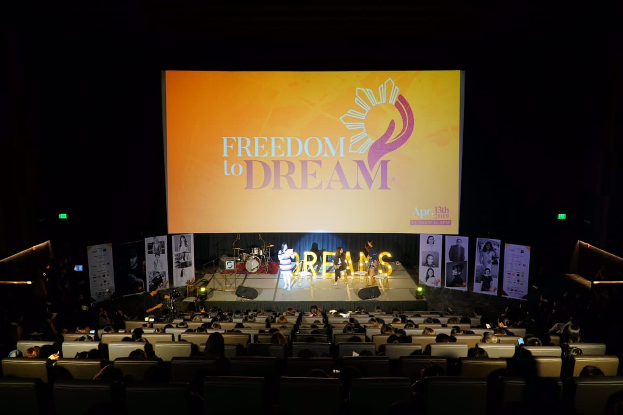 Reach for the stars with the Freedom to Dream Summit at Shangri-La Plaza
