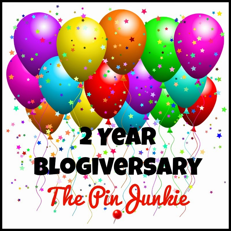 Pin Junkie Blogiversary Party!